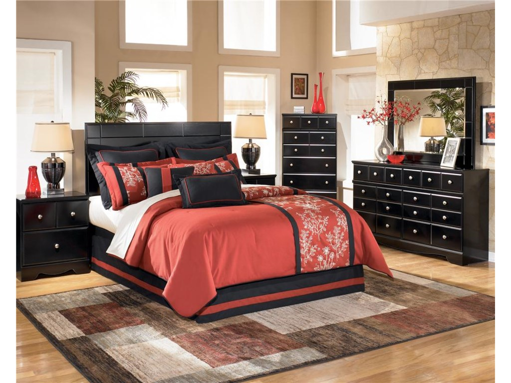 Signature Design by Ashley Shay4 Pc Queen Bedroom