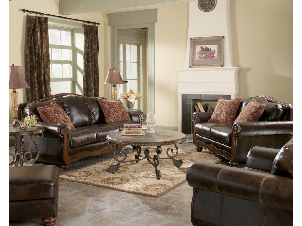 Shown with sofa, chair, and loveseat