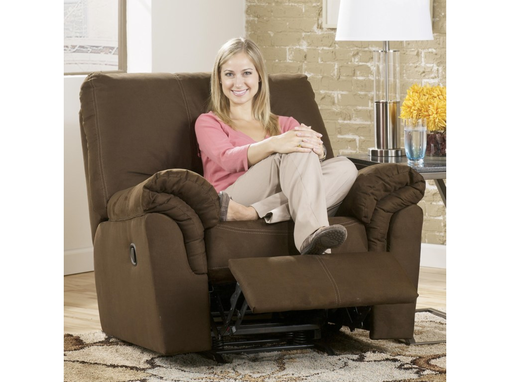 Shown in Reclining Position