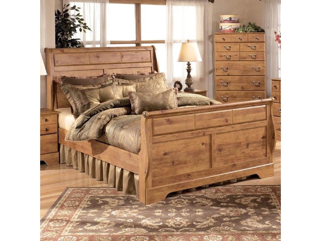 Ashley (Signature Design) BittersweetQueen Sleigh Bed