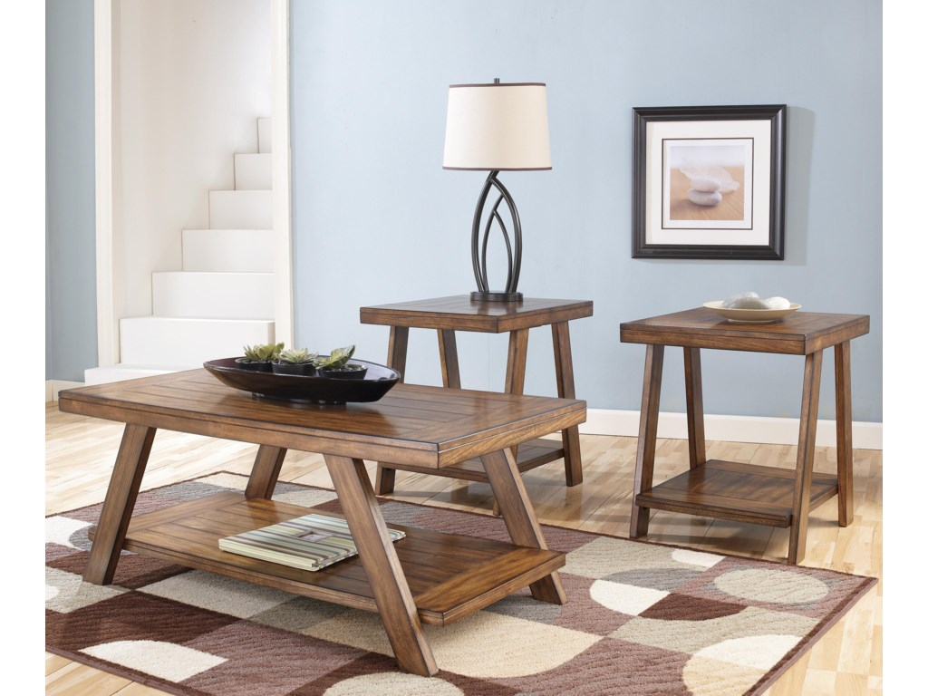 Ashley (Signature Design) Bradley3-in-1 Pack Occasional Tables
