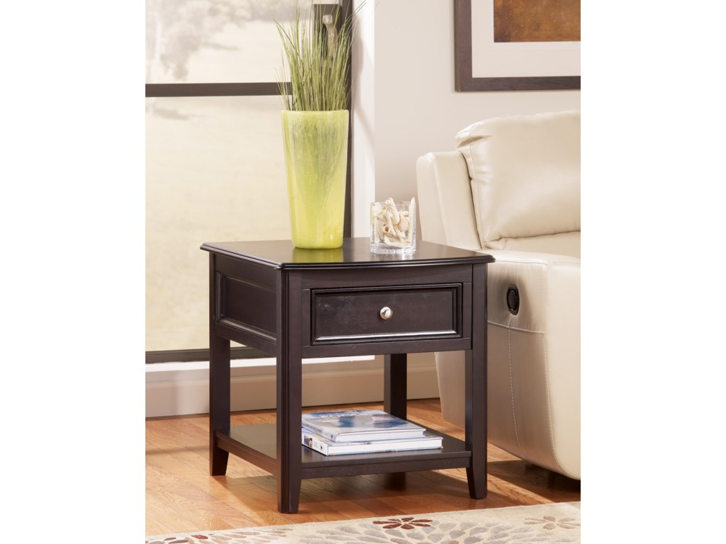 Signature Design by Ashley CarlyleRectangular End Table