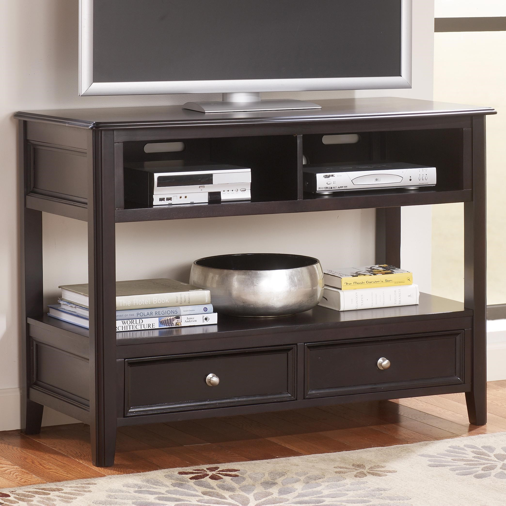 Signature Design By Ashley Carlyle Two Drawer Sofa Table