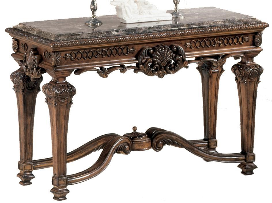 signature designashley casa mollino ornate console with