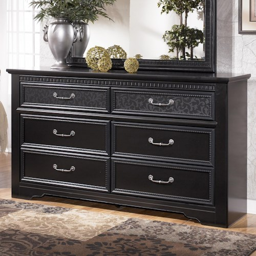 Signature Design by Ashley Cavallino 6 Drawer Dresser