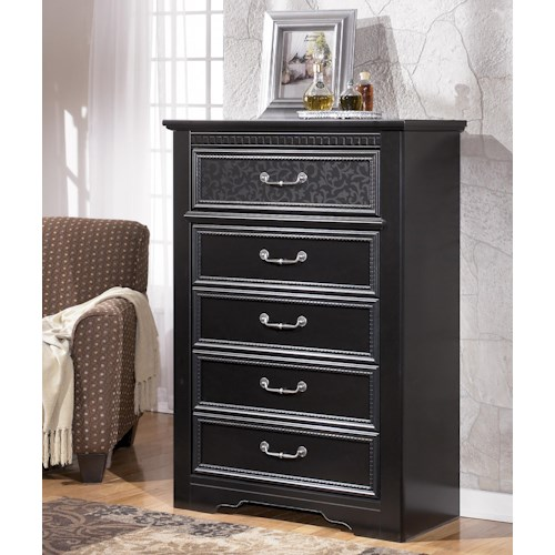 Signature Design by Ashley Cavallino 5 Drawer Chest