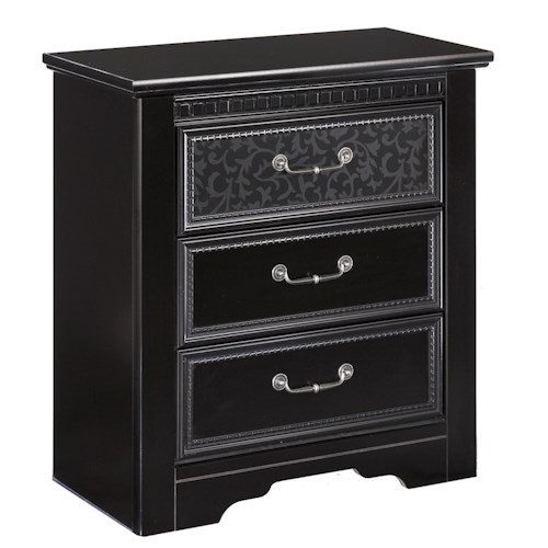 Signature Design by Ashley Cavallino 3 Drawer Nightstand
