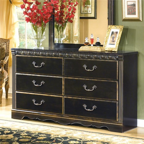 Signature Design by Ashley Coal Creek 6 Drawer Dresser