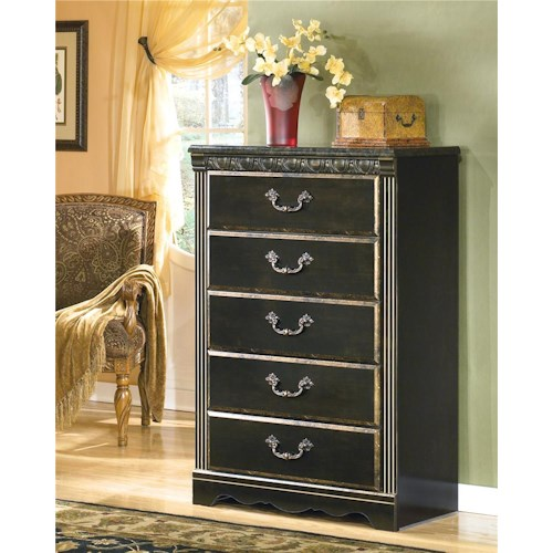 Signature Design by Ashley Coal Creek 5 Drawer Chest