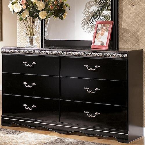 Signature Design by Ashley Constellations 6 Drawer Dresser