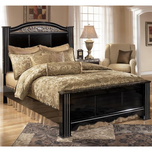 Signature Design by Ashley Constellations King Headboard & Footboard Bed