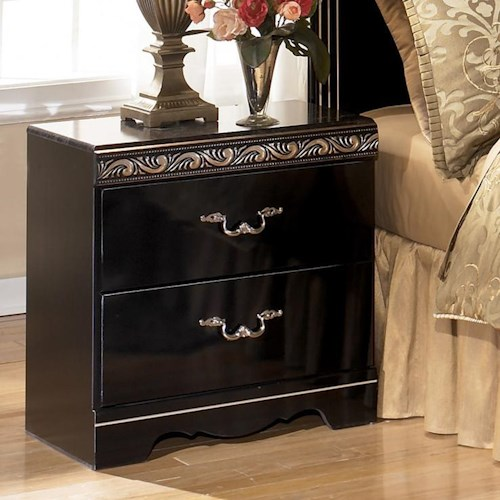 Signature Design by Ashley Constellations 2 Drawer Nightstand