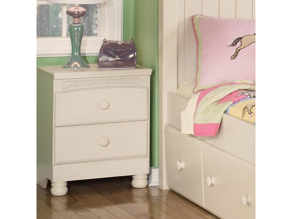Signature Design by Ashley Cottage Retreat2 Drawer Nightstand