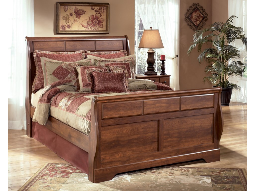 Del Sol AS TimberlineQueen Sleigh Bed