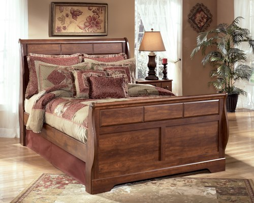 Signature Design by Ashley Timberline Queen Sleigh Bed