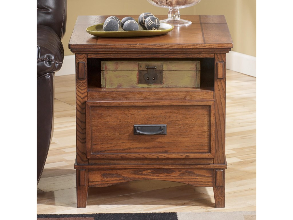 Signature Design by Ashley Cross IslandRectangular End Table
