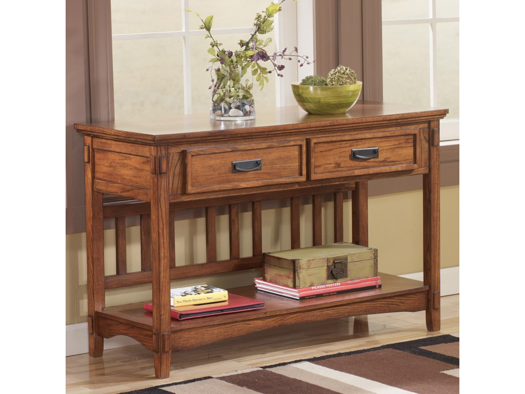 Signature Design By Ashley Cross Islandsofa Console Table