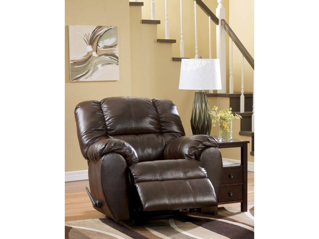 Signature Design by Ashley Dylan DuraBlend - EspressoRocker Recliner