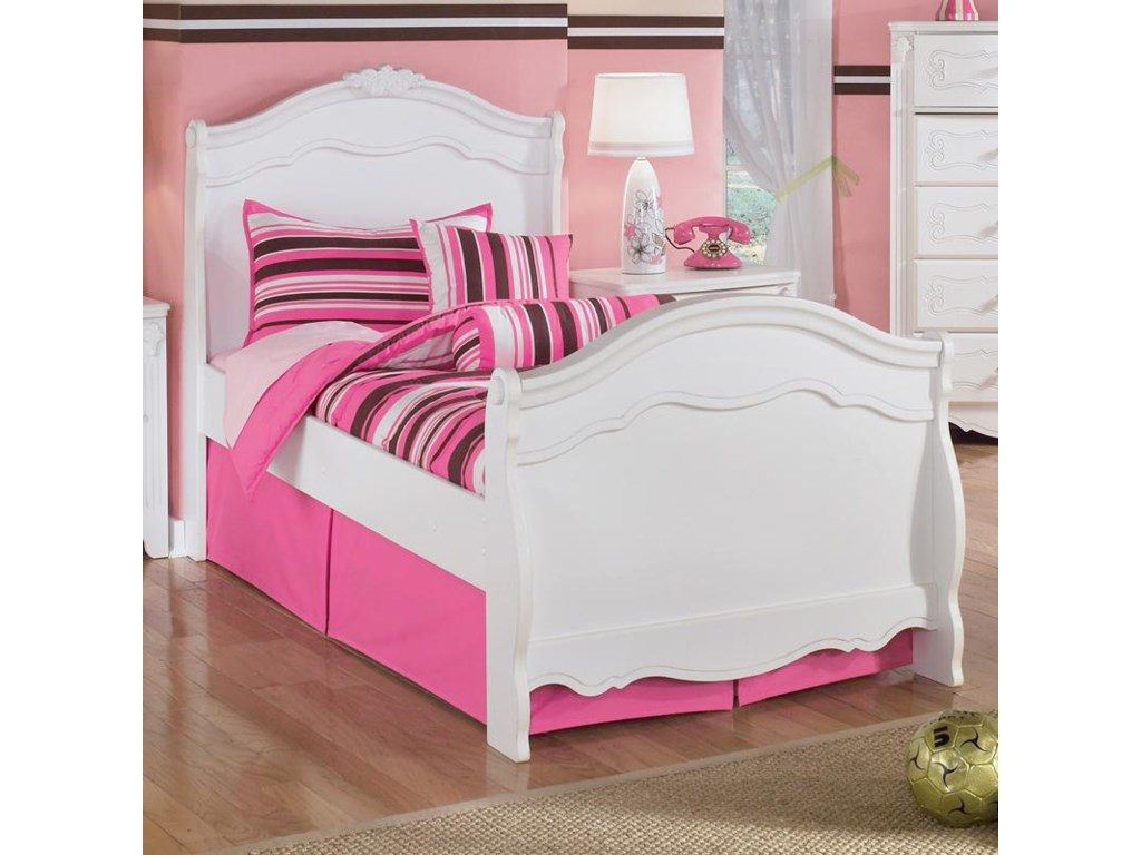 Signature Design by Ashley ExquisiteTwin Sleigh Bed