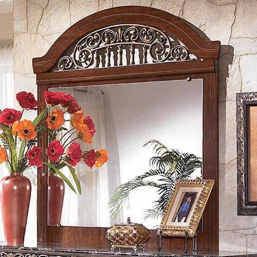 Signature Design by Ashley Fairbrooks Estate Dresser Mirror