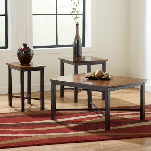Signature Design by Ashley Fletcher 3-in-1 Pack of Occasional Tables