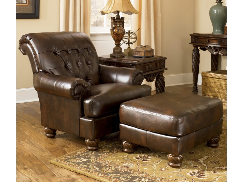 Shown in Living Room with Matching Ottoman