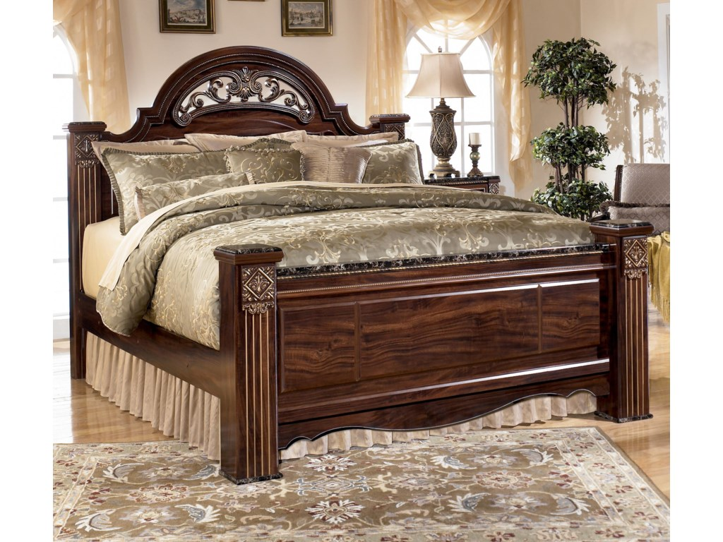 Signature Design by Ashley GabrielaKing Poster Bed