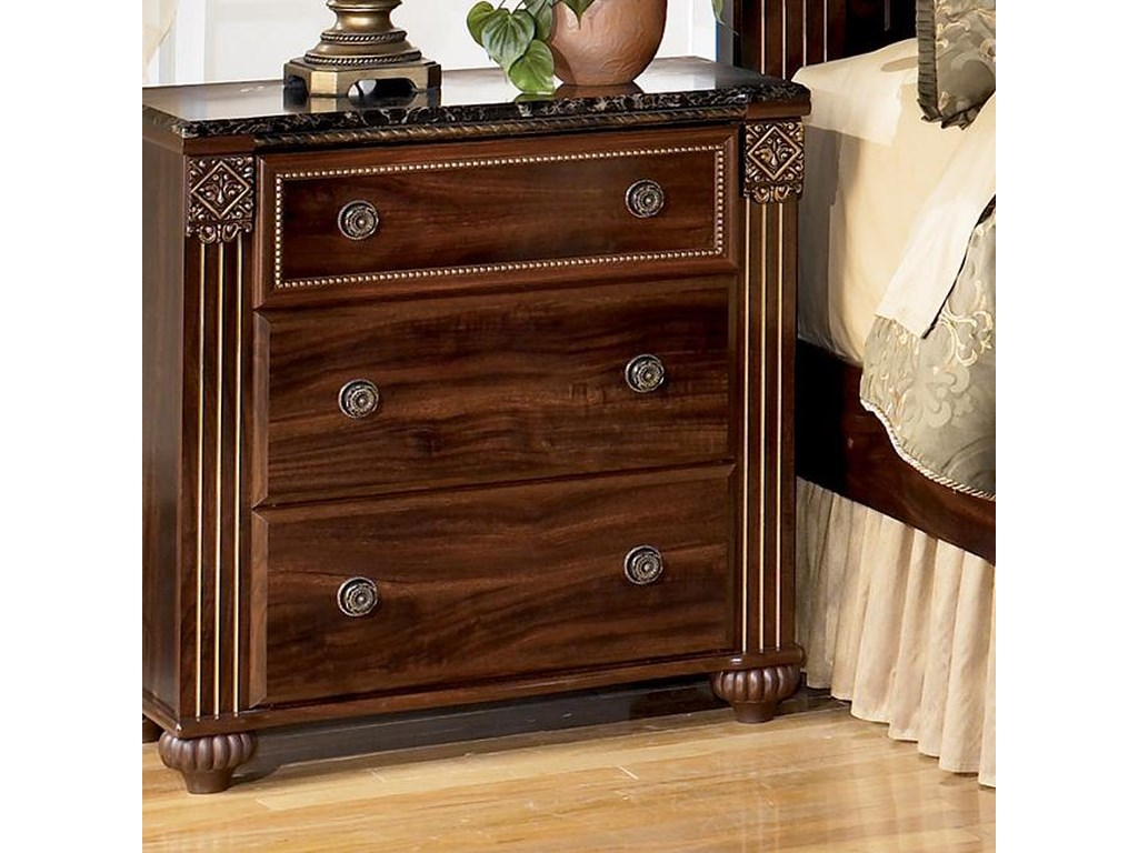 Signature Design by Ashley Gabriela3-Drawer Night Stand