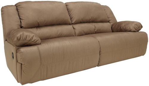 Signature Design by Ashley Hogan - Mocha 2 Seat Reclining Sofa