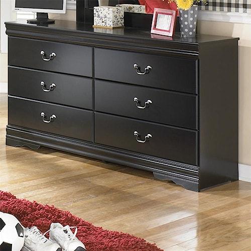 Signature Design by Ashley Huey Vineyard 6 Drawer Dresser
