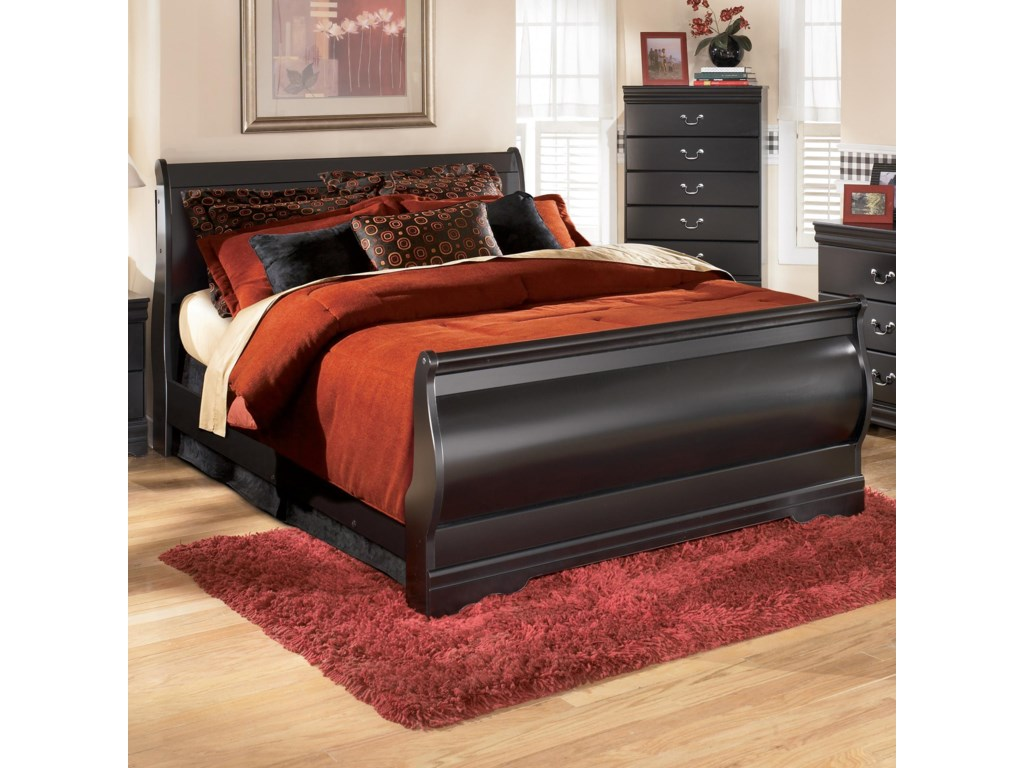 Ashley Signature Design Huey VineyardFull Sleigh Bed