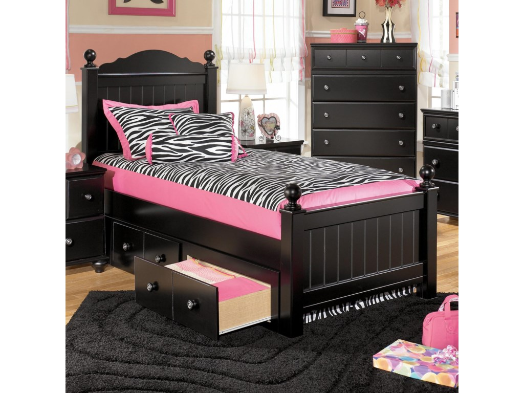 Shown with Twin Poster Bed