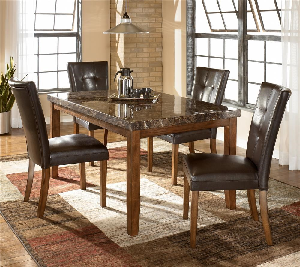 Ashley Furniture Dining Sets signature designashley lacey 5-piece rectangular dining table