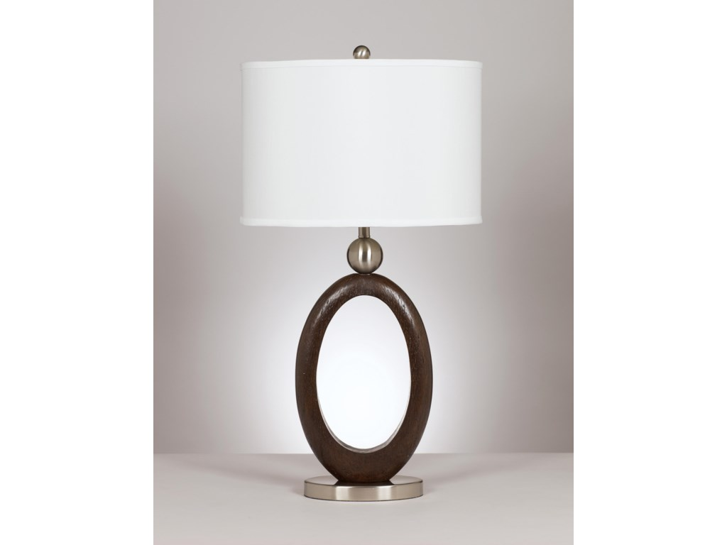 Signature Design by Ashley Lamps - Metro ModernSet of 2 Meckenzie Table Lamps