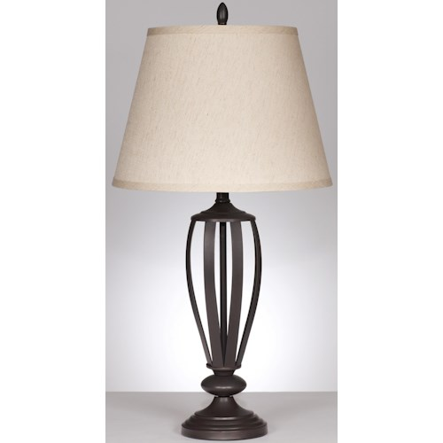 Signature Design by Ashley Lamps - Traditional Classics Set of 2 Mildred Table Lamps