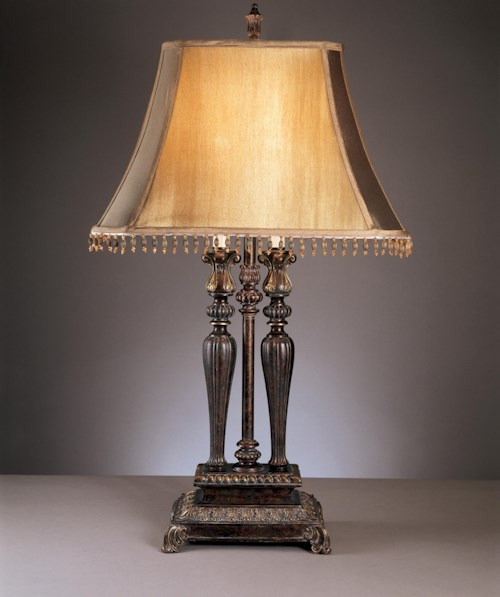 Signature Design by Ashley Lamps - Traditional Classics Set of 2 Desana Table Lamps