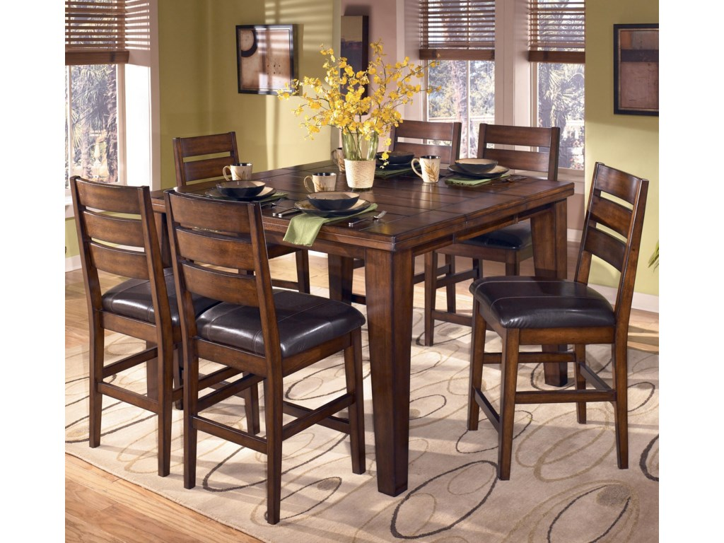 Shown with Six Bar Stools
