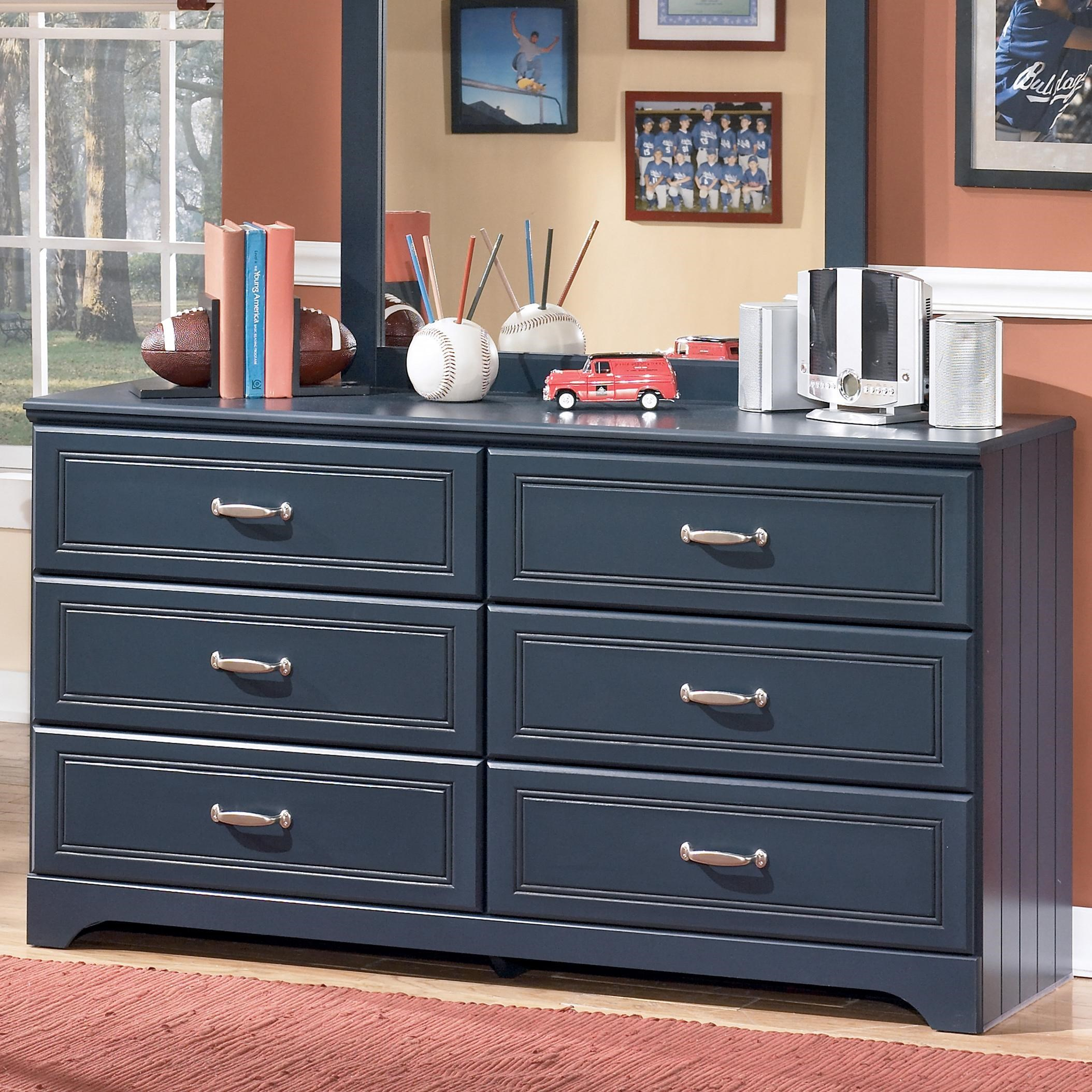 Signature Design By Ashley Leo 6 Drawer Dresser