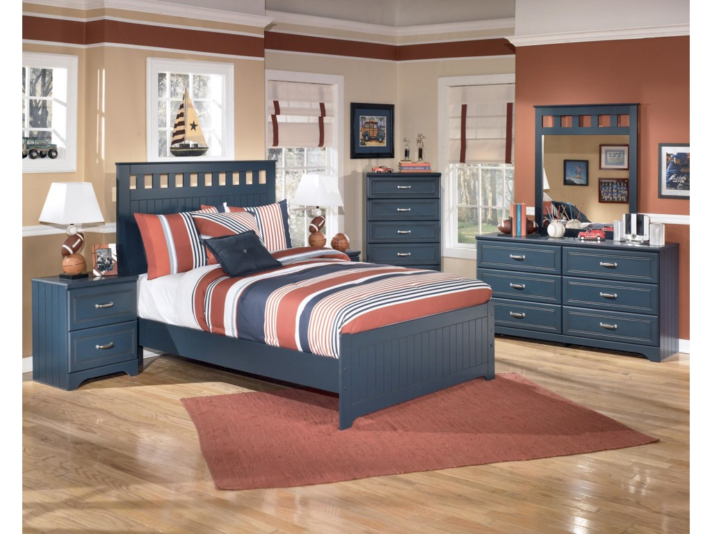 Shown with Bed, Chest, Dresser, and Mirror
