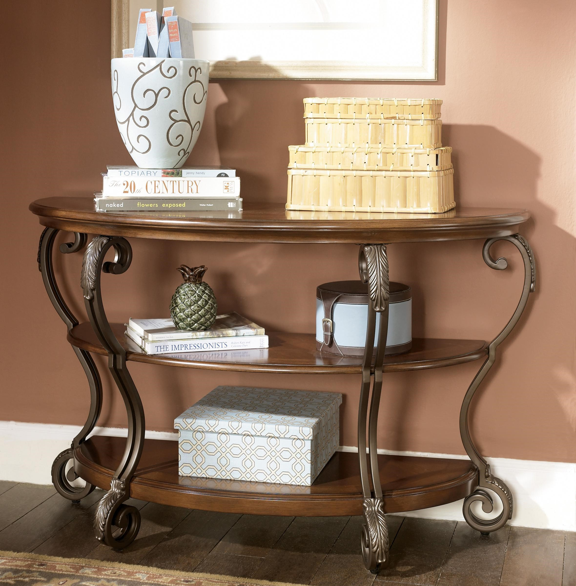 Great Nestor Sofa Table By Signature Design By Ashley