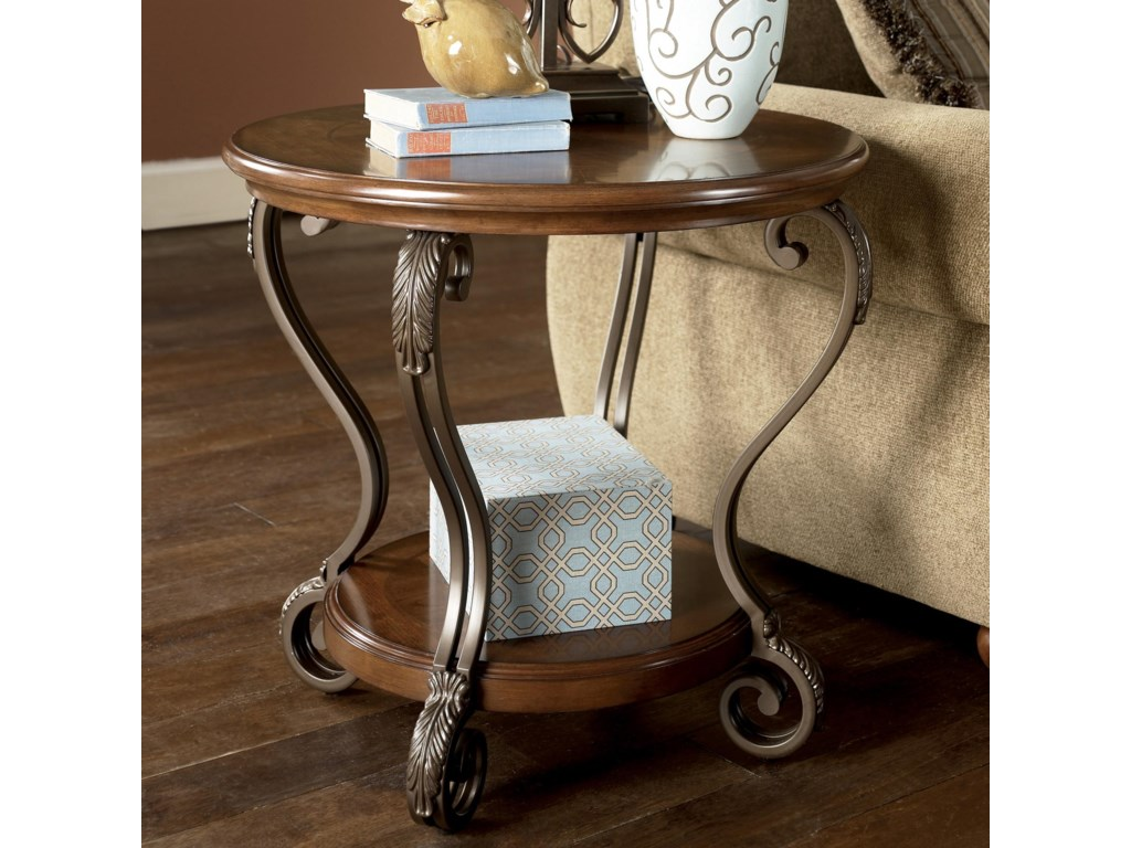 Signature Design by Ashley NestorRound End Table