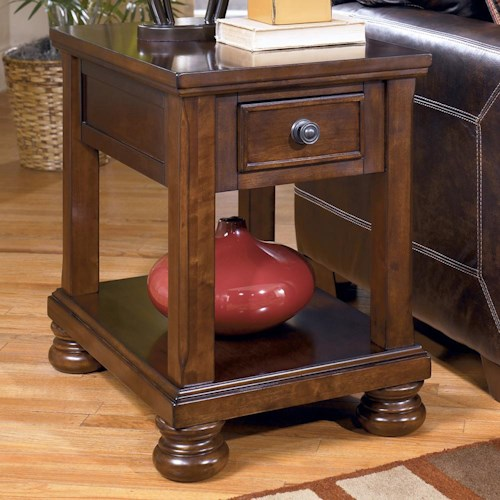 Signature Design by Ashley Porter Chairside End Table