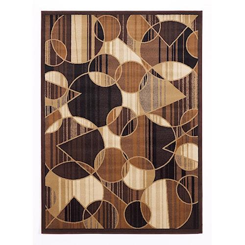Signature Design by Ashley Contemporary Area Rugs Calder - Multi Area Rug