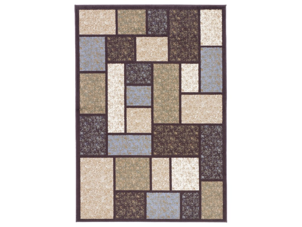 Signature Design by Ashley Contemporary Area RugsKeswick - Brown Rug