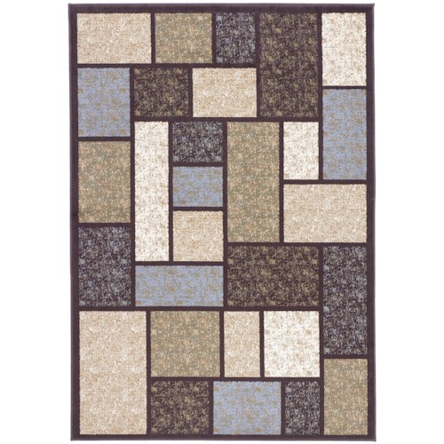 Signature Design by Ashley Contemporary Area Rugs Keswick - Brown Area Rug