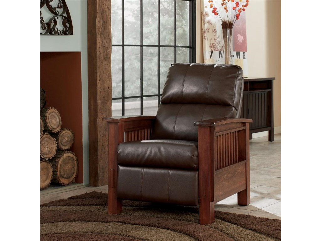 Signature Design by Ashley Santa Fe High Leg Recliner