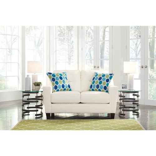 Signature Design by Ashley 0438 Love Seat