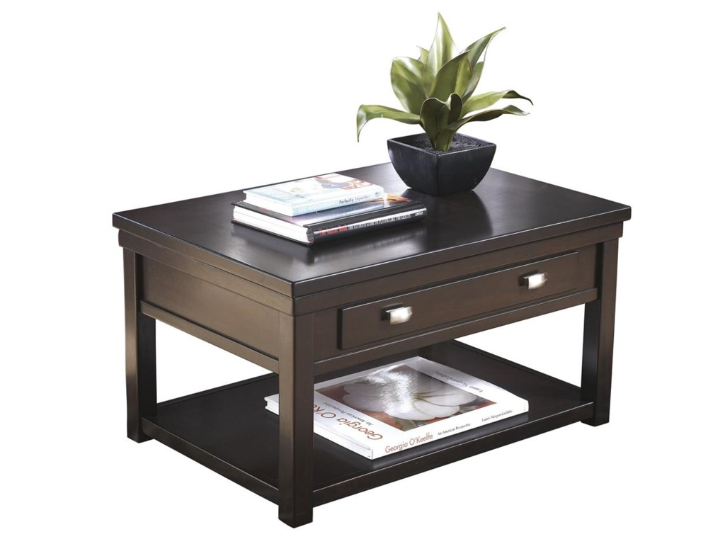 Trendz  HarlieRectangular Lift-Top Cocktail Table