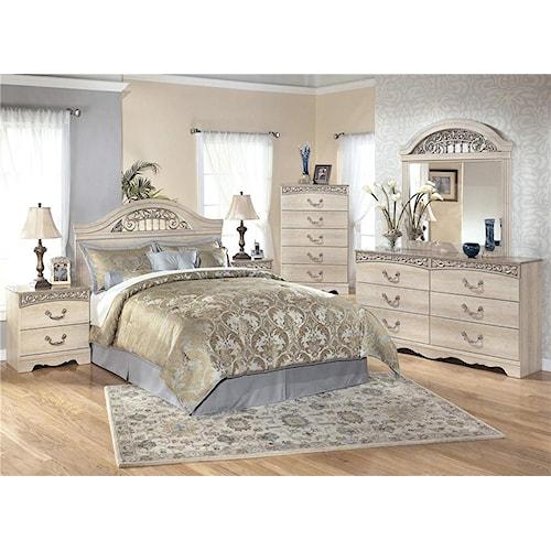 Signature Design by Ashley Catalina 4-Piece Queen Bedroom Set
