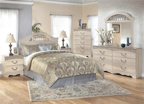 Signature Design by Ashley Catalina 4-Piece Queen Bedroom Set